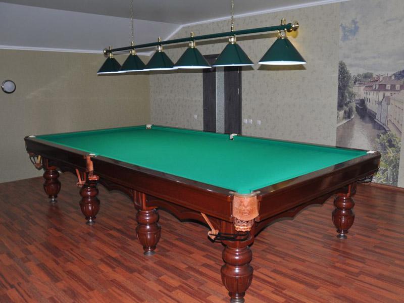 Ремонт бильярдный стол 66
